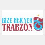 Trabzonspor Pegatina Rectangular