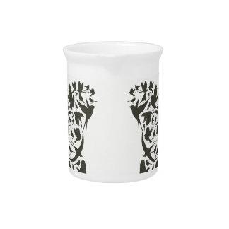 Trace a bird beverage pitchers