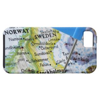 Trace el perno colocado en Estocolmo, Suecia en iPhone 5 Fundas