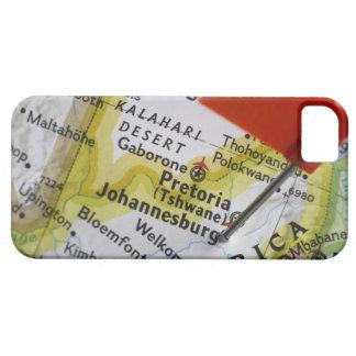 Trace el perno colocado en Johannesburg, Suráfrica Funda Para iPhone 5 Barely There