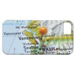 Trace el perno colocado en Vancouver, Canadá en iPhone 5 Funda