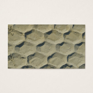 trace of tyre in the sand business card
