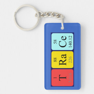 Trace periodic table name keyring key chain