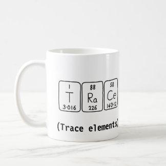 Trace periodic table word mug