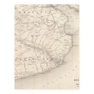 Trace, provincia de Buenos Aires, regiones vecinas Postales