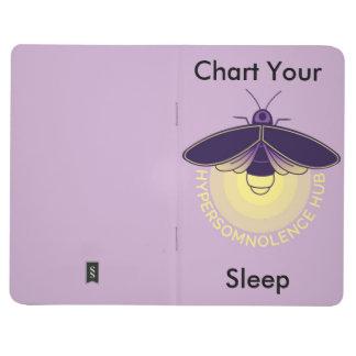 Trace su folleto del sueño cuadernos grapados