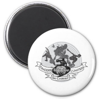 Tracers United in Christ - Modelo 1 2 Inch Round Magnet