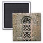 Tracery de la ventana, de la basílica San Juan Imán Cuadrado