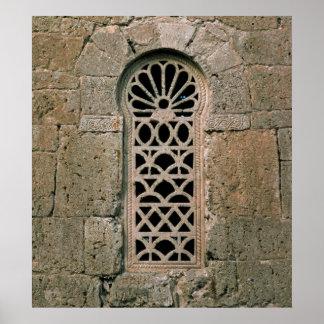 Tracery de la ventana, de la basílica San Juan Póster