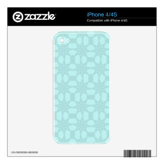 Tracery of Snow Flakes Skins For iPhone 4