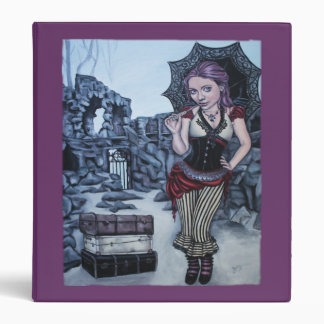 traces of my mistakes steampunk faery binder