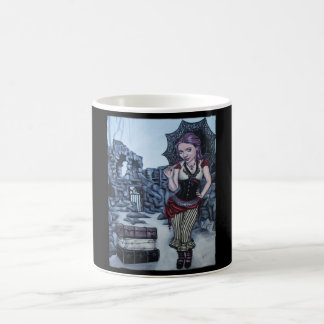 traces of my mistakes steampunk faery mug