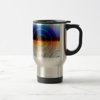 traces of time created by Christine Bässler Travel Mug