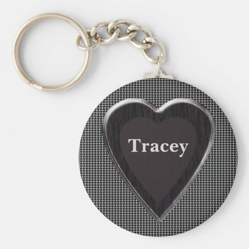 Tracey Stole My Heart Keychain