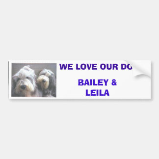 Tracey's Dogs Bumper Stickers