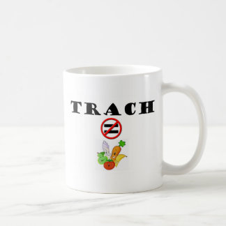 Trach Does NOT = Vegetable Classic White Coffee Mug