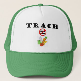 Trach Does NOT = Vegetable Trucker Hat