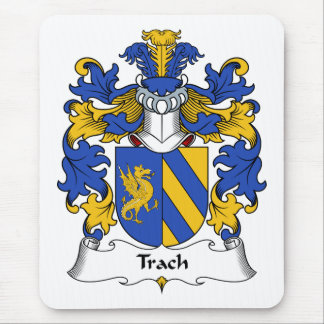 Trach Family Crest Mouse Pad