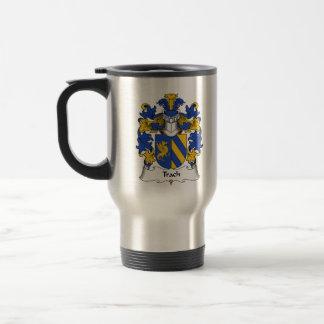 Trach Family Crest Coffee Mug