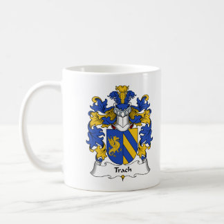 Trach Family Crest Coffee Mugs