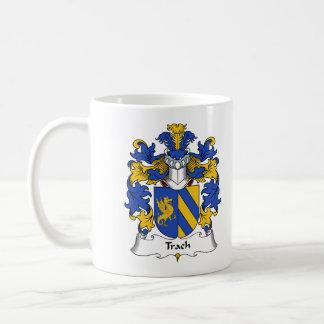 Trach Family Crest Classic White Coffee Mug