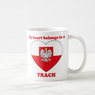 Trach Classic White Coffee Mug