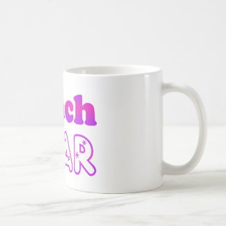 Trach Star Classic White Coffee Mug