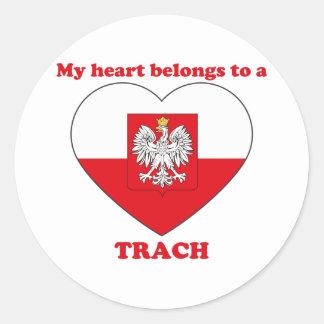 Trach Sticker