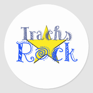 Trachs Rock Stickers