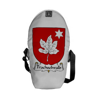 Trachselwald Family Crest Messenger Bags