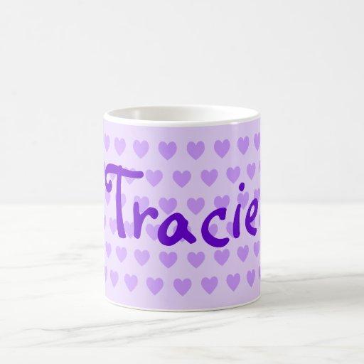 Tracie in Purple Coffee Mug