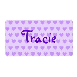 Tracie in Purple Label