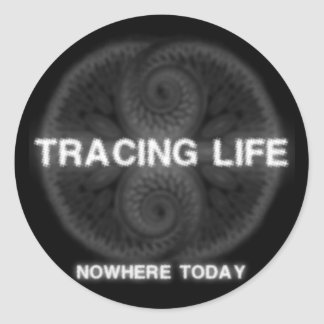 Tracing Life Sticker