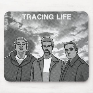 "Tracing Life ""Traced"" Mousepad"