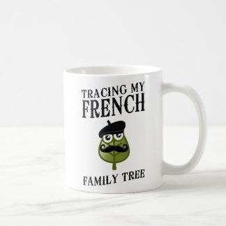Tracing My French Family Tree Coffee Mug