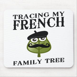 Tracing My French Family Tree Mouse Pads