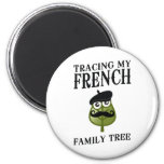 Tracing My French Family Tree Refrigerator Magnets