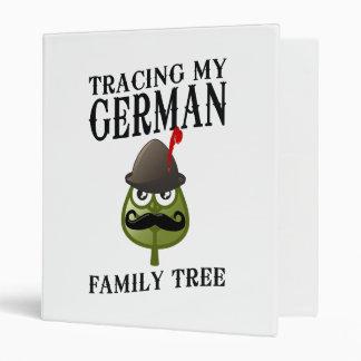 Tracing My German Family Tree 3 Ring Binder