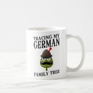 Tracing My German Family Tree Coffee Mug
