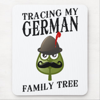 Tracing My German Family Tree Mouse Pad