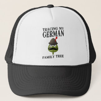 Tracing My German Family Tree Trucker Hat