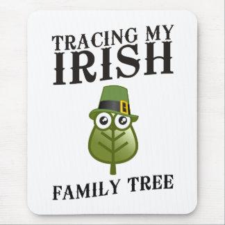Tracing My Irish Family Tree Mouse Pad