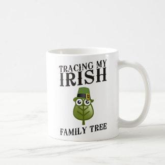 Tracing My Irish Family Tree Coffee Mug