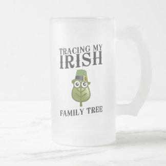 Tracing My Irish Family Tree Mugs