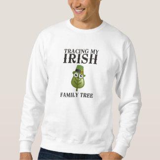 Tracing My Irish Family Tree Pullover Sweatshirt