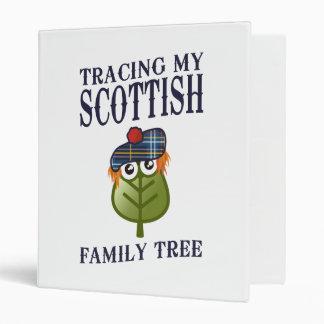 Tracing My Scottish Family Tree 3 Ring Binder