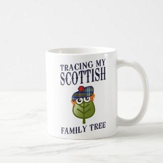 Tracing My Scottish Family Tree Classic White Coffee Mug