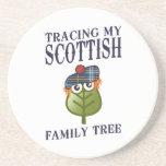 Tracing My Scottish Family Tree Coaster