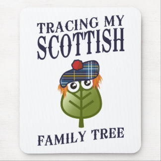Tracing My Scottish Family Tree Mouse Pad