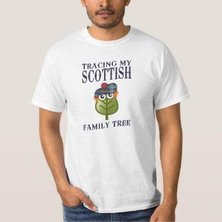Tracing My Scottish Family Tree T Shirt